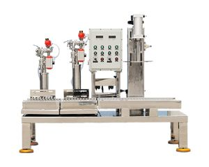 Two Nozzel filling machine